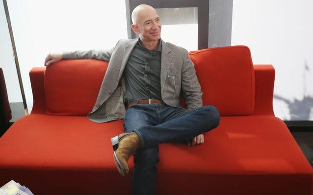 ฝ่ายนิติบัญญัติถาม Jeff Bezos สำหรับข้อมูลเกี่ยวกับซอฟต์แวร์จดจำใบหน้าของเขาซึ่งเวลานี้น้อยลง