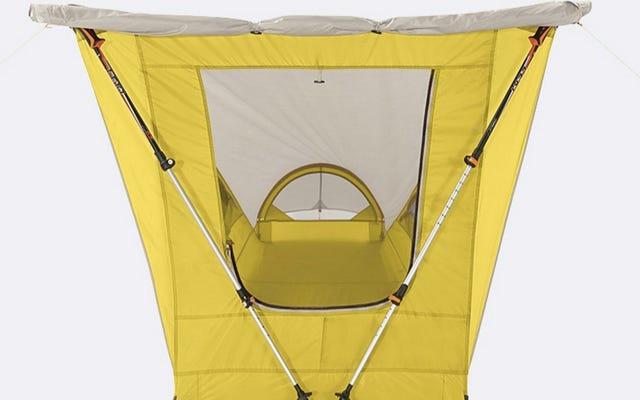क्या एक घन जैसा आकार वास्तव में एक बेहतर तम्बू बना सकता है?