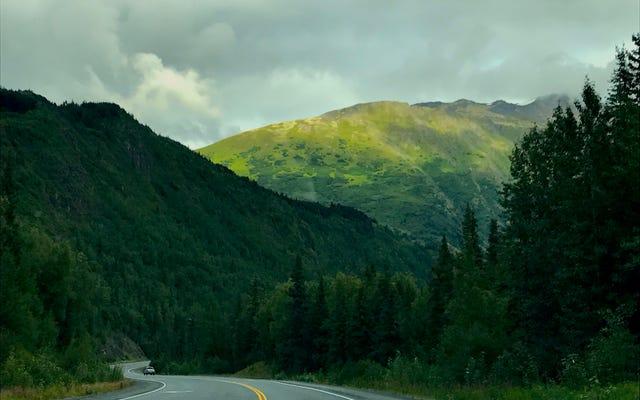 ทางหลวง Seward ของ Alaska เป็นถนนที่สวยที่สุดในอเมริกา