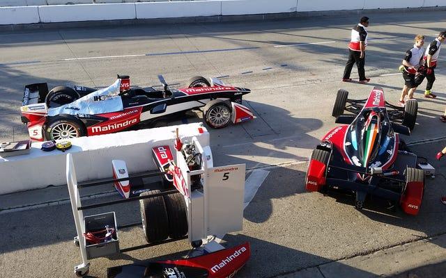 フォーミュラEは来シーズンのレース中盤で車を交換する必要はありません
