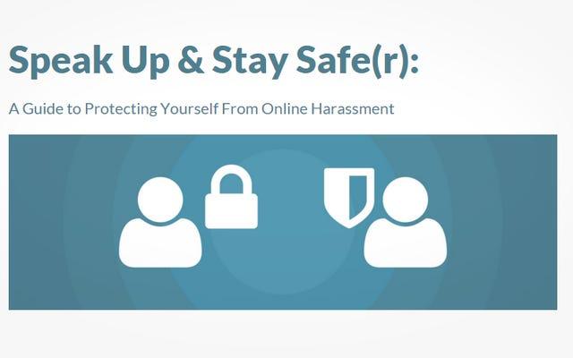 このサイトでは、オンラインでの嫌がらせに備えて対処する方法を教えています。
