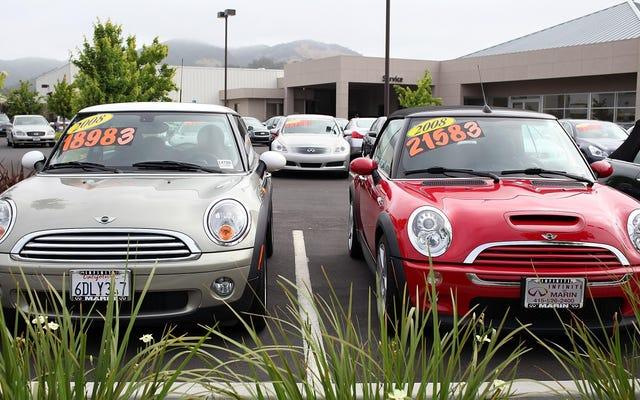 ในที่สุดตลาดรถยนต์มือสองจะเย็นลงได้หรือไม่?