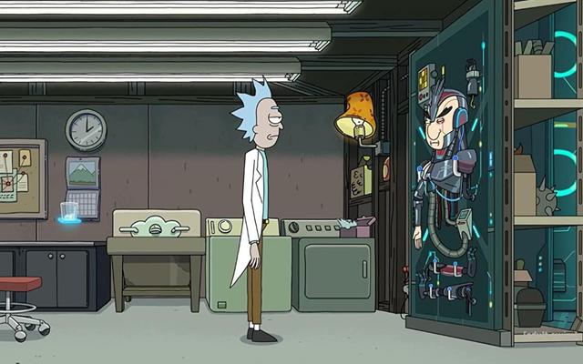 Un po' di tempo nella vita di una mente crea un fantastico Rick And Morty