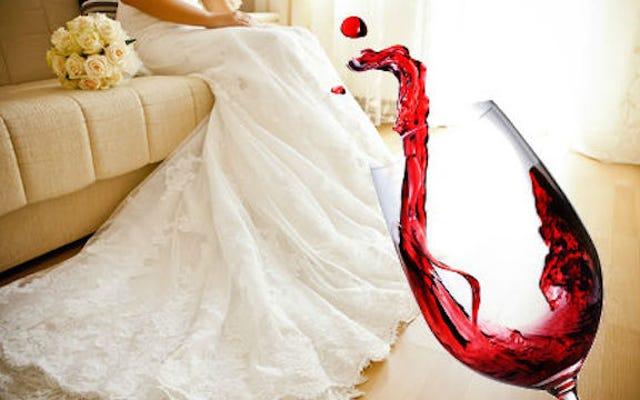 Avez-vous eu un dysfonctionnement de la garde-robe de mariage?