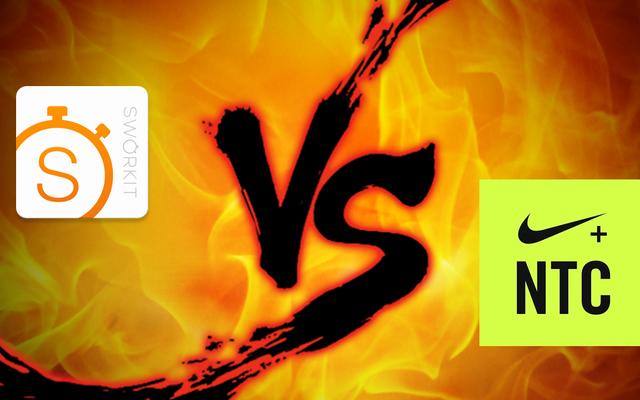 ワークアウト対決:Sworkit vs. Nike Training Club