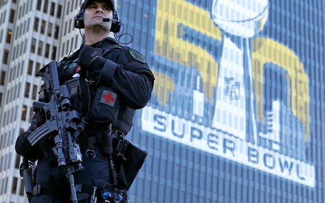 スーパーボウルである大規模な国土安全保障省