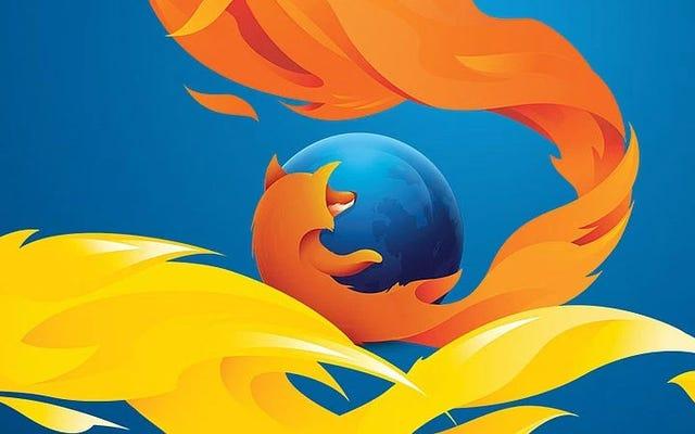После Blowback Firefox переместит расширение Mr. Robot в магазин