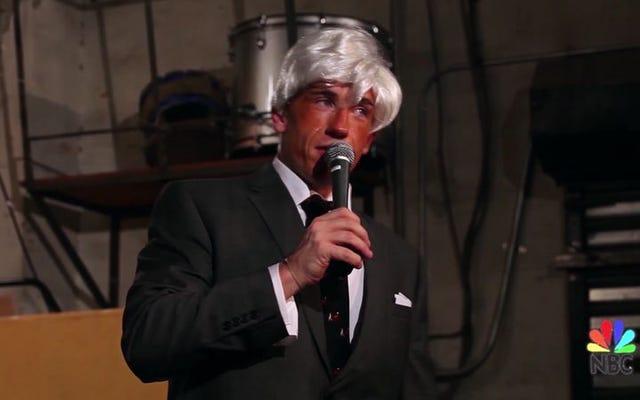 ジョニーカーソンのトゥナイトショーのこのコメディアンの近似はばかげています
