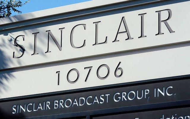Sinclair Broadcasting хотела бы, чтобы вы знали, что его пропаганда на самом деле прекрасна