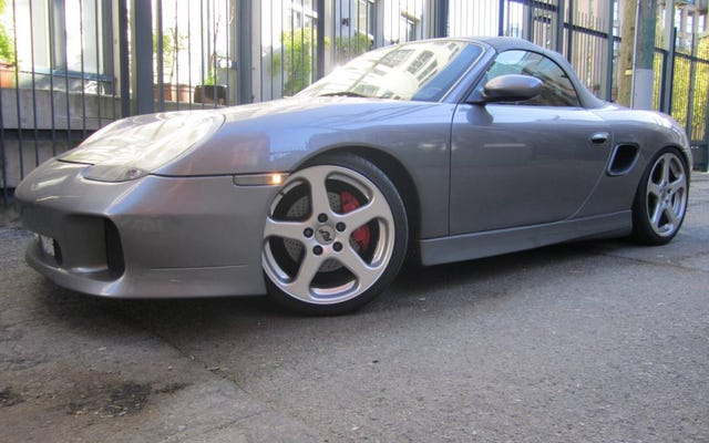 A $ 22,900 canadienses, ¿lo haría 'RUF-It' en este Porsche Boxster S 2001?