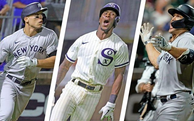 フィールド・オブ・ドリームスでは、野球の黒と茶色の星がA-MAIZE-INGの夜を過ごします
