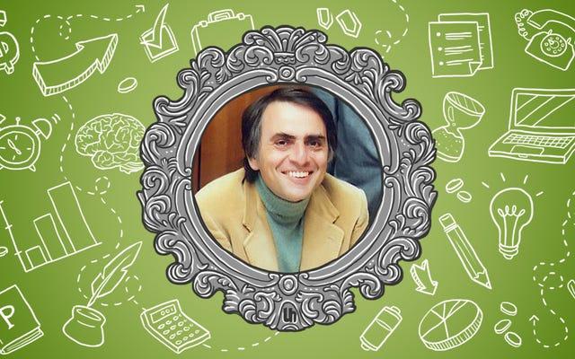 Carl Sagan'ın En İyi Verimlilik Püf Noktaları
