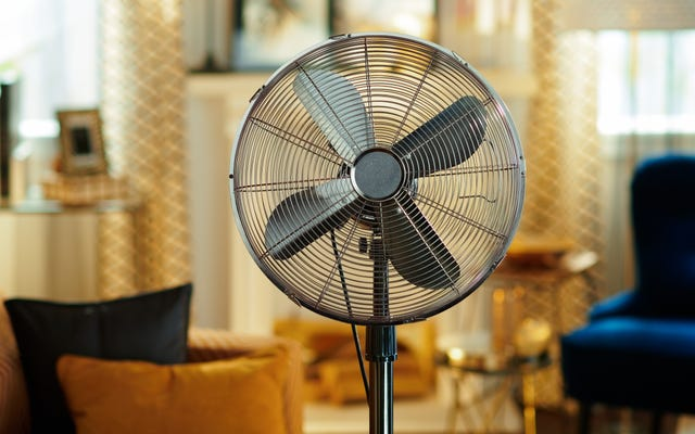 暑くて乾燥した天候では、ファンがいつもあなたを冷やすとは限りません