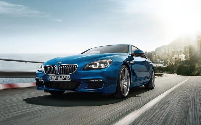 BMW6シリーズクーペが最初に廃止されたのは奇妙なことです