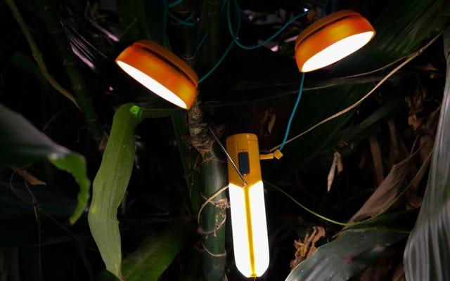BioLite's NanoGrid là một đèn lồng, pin và đèn pin tất cả trong một