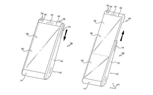 Oubliez le Galaxy Fold, Samsung rêve déjà de téléphones enroulables