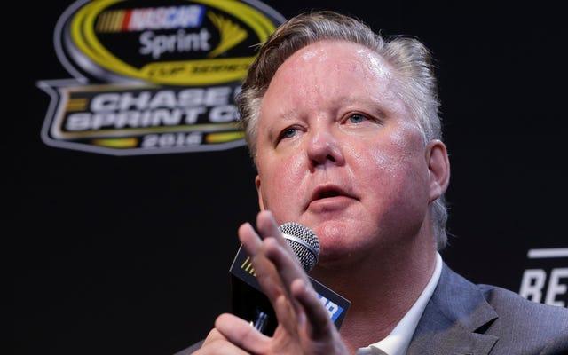 Brian France ซีอีโอของ NASCAR จะ 'ลางานโดยไม่มีกำหนด' หลังจากข้อหา DUI และยา