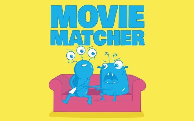 ใช้ไซต์นี้เพื่อค้นหาภาพยนตร์เพื่อรับชมกับเพื่อนหรือคู่ค้าของคุณโดยพิจารณาจากการชอบที่แชร์