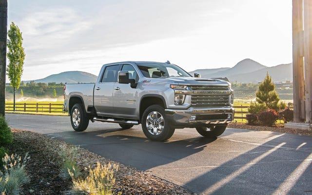 GMは、シートベルトシステムが火災を引き起こす可能性を超えて550,000台以上のトラックをリコール