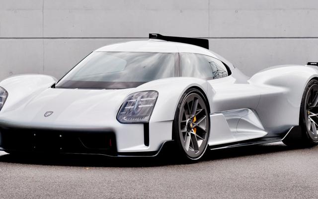 Porsche está mostrando esta versión de calle del 919 Hybrid LMP1 Racer y otros autos increíbles que nunca llegaron a buen término
