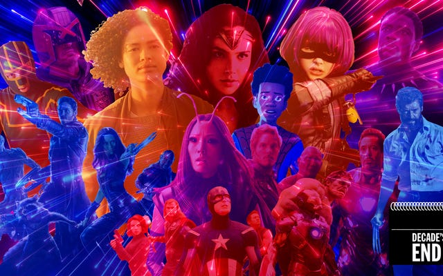 過去10年間の10のベストスーパーヒーロー映画