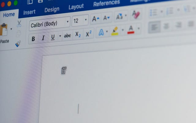 Microsoft Word가 문장 사이에 두 개의 공백을 사용한다고 판단하지 마십시오.