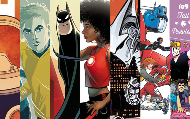 Руководство io9 по огромному количеству потрясающих новых комиксов, которые выйдут этой осенью