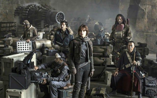 Rogue One:A Star Wars Storyの終わりはそれほど悲劇的なものにはなりませんでした(結婚式さえありました)