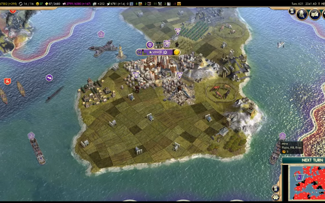 El escenario de Civilization V imposible termina con un giro inesperado
