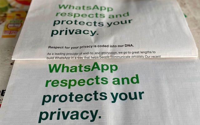 Después de no poder twittear a través de él, WhatsApp retrasa las actualizaciones de la política de privacidad