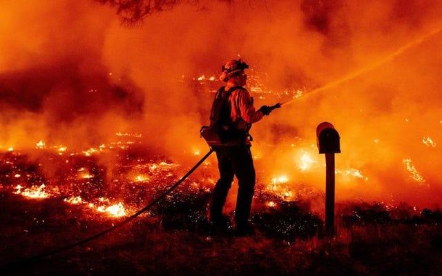 Foto Paling Apokaliptik Dari Pantai Barat Kebakaran Minggu Ini