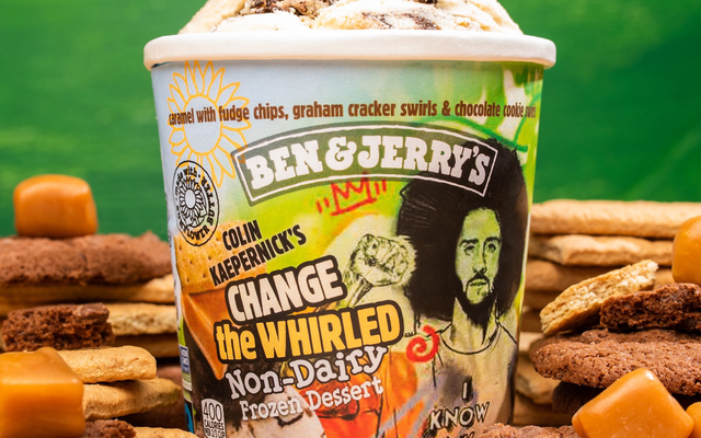 Ben & Jerry's se une a Colin Kaepernick para 'Change the Whirled'