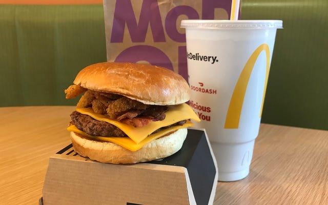 McDonald's Bacon BBQ Burger potrebbe avere un potenziale a lungo termine