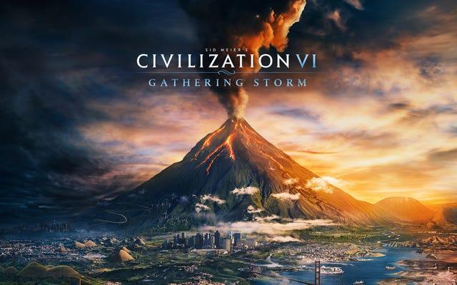 La expansión de la tormenta acumulada trae el cambio climático a Civilization VI 14 de febrero