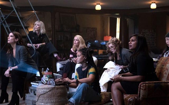 Điều tuyệt vời nhất ở Ocean's 8 là những người phụ nữ trên màn ảnh