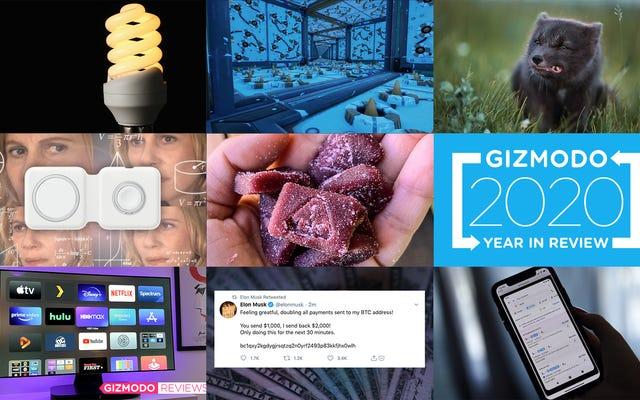 Gizmodo'nun 2020 Yılının En Popüler 100 Gönderisi