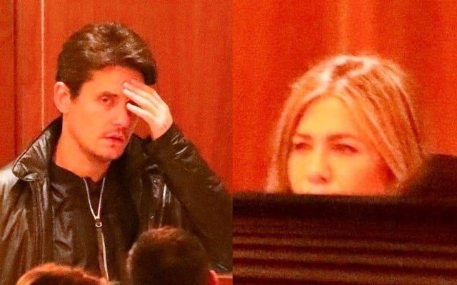 Jennifer Aniston continua a correre contro i suoi ex al Sunset Tower Hotel