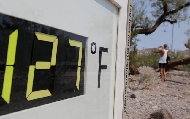 La vallée de la mort en Californie aura le mois le plus chaud jamais enregistré sur Terre