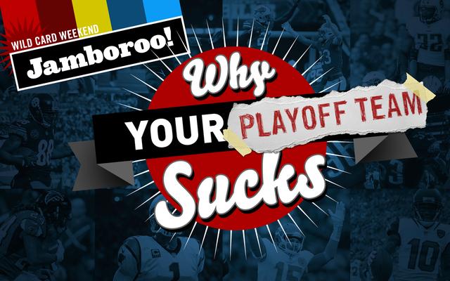 Dlaczego Twój zespół NFL Playoff jest do bani