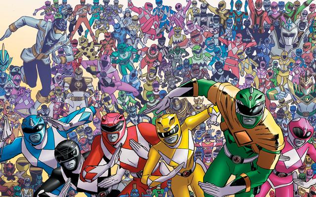 25年のパワーレンジャーが次のコミッククロスオーバーのために団結している