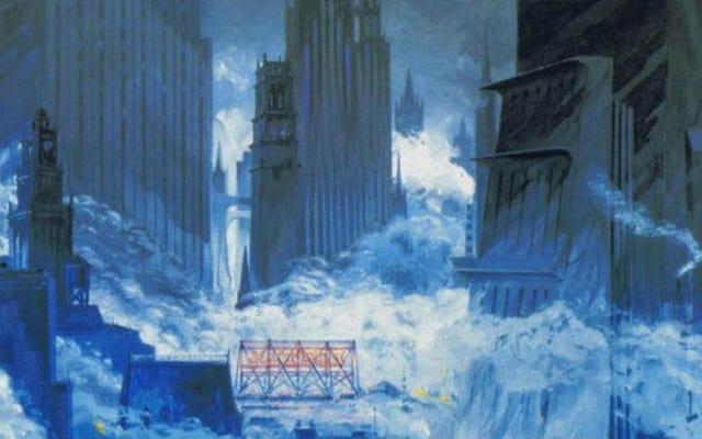 Gotham, Batman Returns'ün yapım tasarımlarında görkemli bir kabus