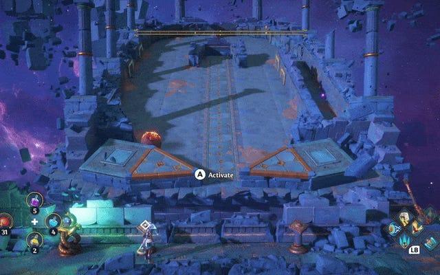 El minijuego de pinball de Immortals Fenyx Rising es el mejor (y el peor) rompecabezas del juego