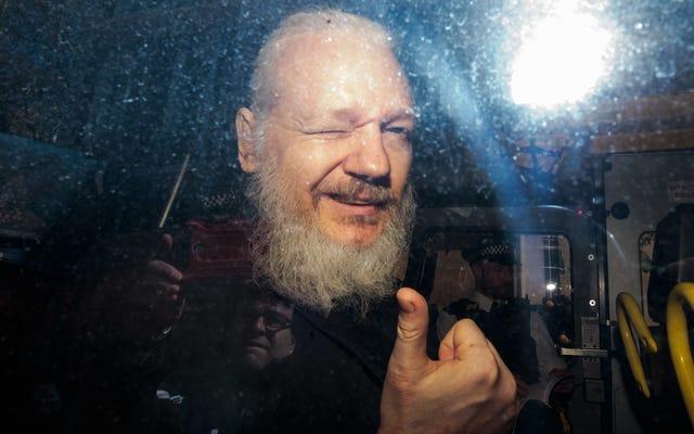 Un témoin dit qu'Assange a reçu une grâce pour aider Trump, les avocats américains ne discutent pas