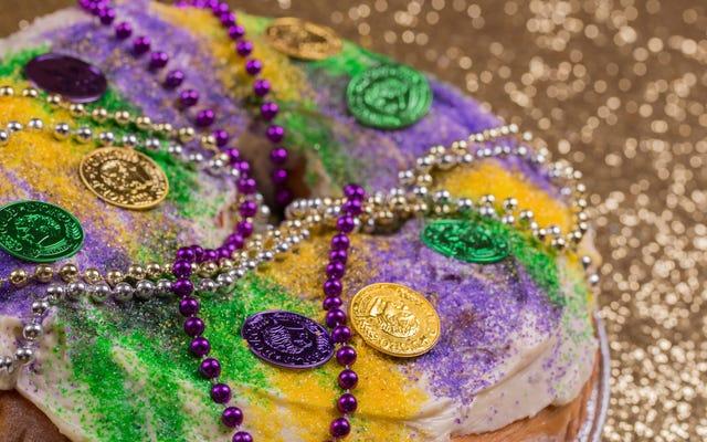 Ostatnie wezwanie: lody Mardi Gras King Cake i Ricky Jay