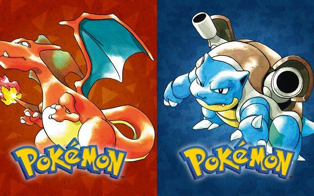 スプラトゥーンは、ポケモン赤と青をめぐって論争しているプレイヤーに照らされています