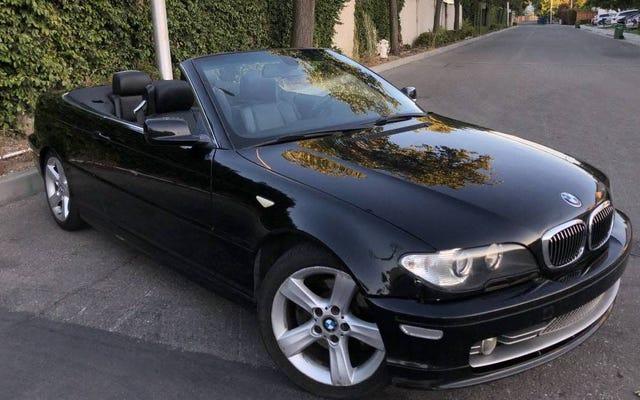 3,300ドルで、このマニュアルを装備した2006 BMW 325Ciはドロップトップの喜びになるでしょうか?
