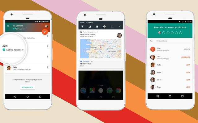 Новые доверенные контакты Google делятся вашим местоположением с близкими в режиме реального времени