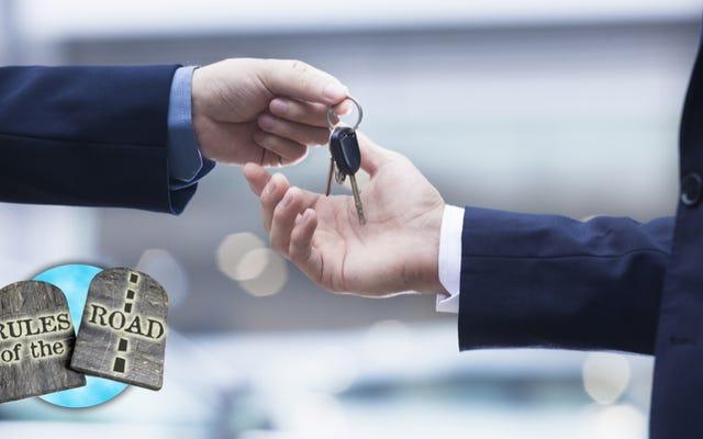 Perché dovresti pensarci due volte prima di prestare la tua auto a qualcuno