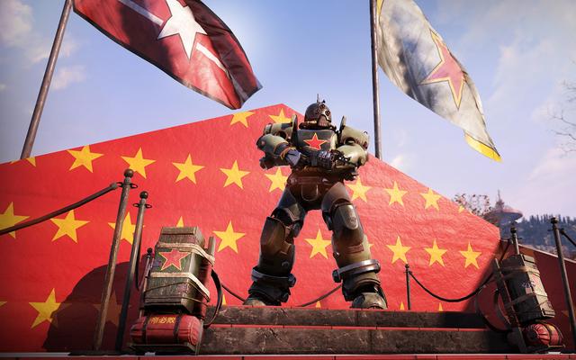 Fallout 76 Robot, Komünist Propagandayla Oyuncuları Spam Yapmayı Durdurmayacak