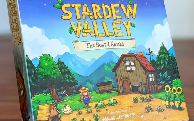 Stardew Valley jest teraz grą planszową w trybie współpracy